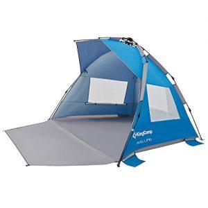 3-4 Person Beach Canopy Tent Sun Shade