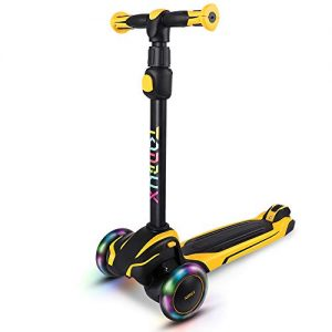 TONBUX Kids Scooter with Adjustable Height Toddler Scooter
