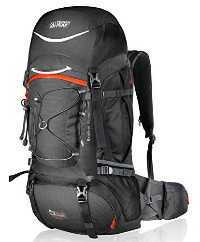 Adjustable Hiking Backpack for Men Women Graphite