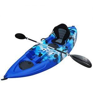 Solo Sit-On-Top Kayak w/Premium Memory Foam Seat