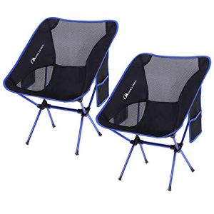 Ultralight Portable Folding Chairs with Carry Bag