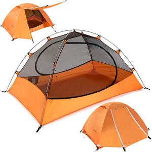 Ultralight 1.5-Person Tent for Backpacking