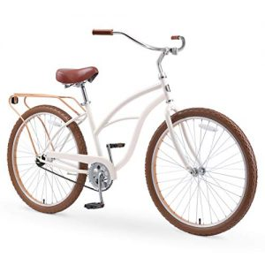 New Beach Cruiser Bicycle with Rear Rack