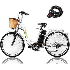 "NAKTO 26"" 250W Cargo Electric Bicycle Sporting Shimano"