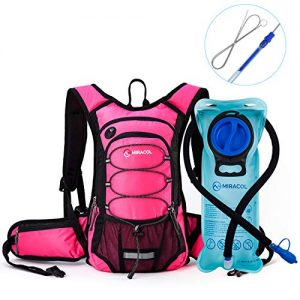 Hydration Backpack Pack with 2L for Hiking, Running, Camping