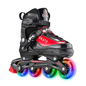 Inline Skates with All Light up Wheels, Outdoor & Indoor