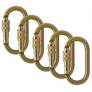 Fusion Climb Ovatti Steel Screw-Lock