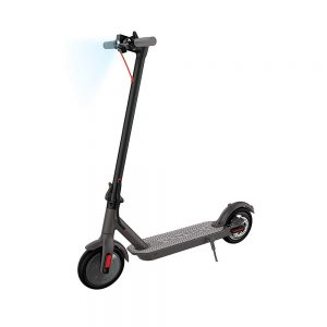 Black Electric Folding Scooter