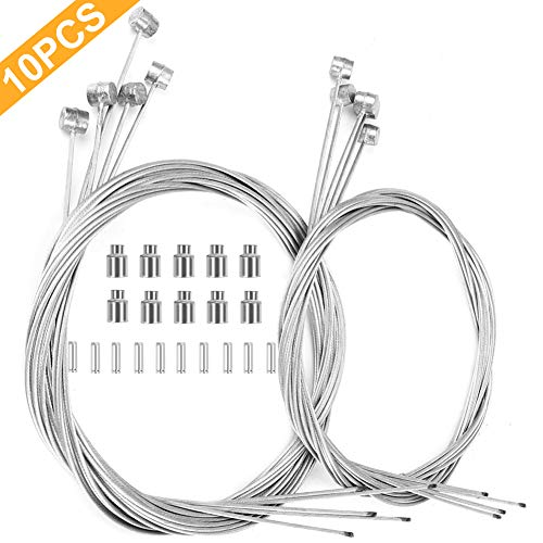 Hyacinth 10PCS Premium Bike Brake Cable