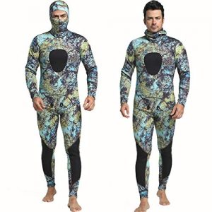 Nataly Osmann Camo Spearfishing Wetsuits Men