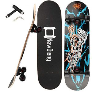 """31"""" x 8"""" Double Kick Concave Pro Skateboards for Trick"""