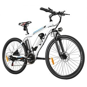 Electric Mountain Bike with Removable 8Ah Lithium-Ion Battery