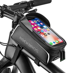 Bike Phone Front Frame Cycling Pouch Compatible with iPhone 11 XS Max