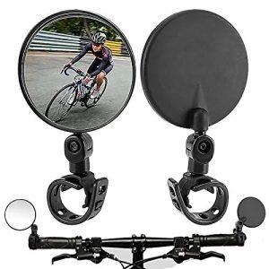 Bike Mirror, 2 Pack Bicycle mirrors for handlebars