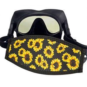 AMUSEPROFI Neoprene Diving Mask Strap Cover