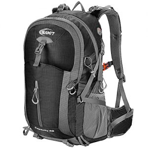 Hiking Backpack 40L with Waterproof Rain Cover