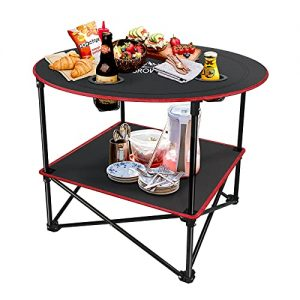 Grovind Portable Canvas Table Camping Tables