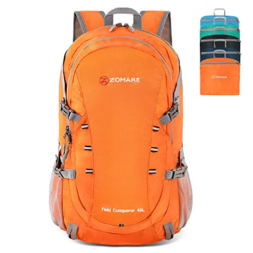 Water Resistant Travel Daypack Lightweight 40L