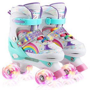 Adjustable Roller Skates for Kids Beginners