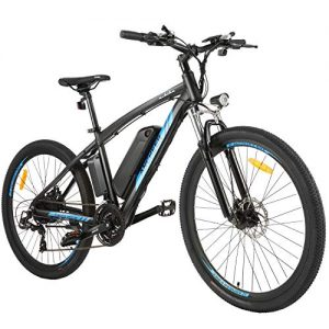 Commuter Electric Bike with Removable 48V 10Ah Battery