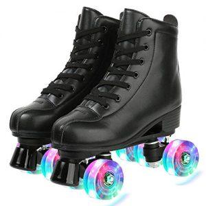 Double-Row Roller Skates for Unisex
