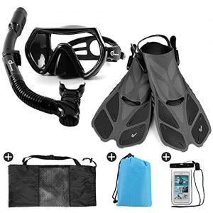 Odoland Snorkel Set 6-in-1 Snorkeling Packages