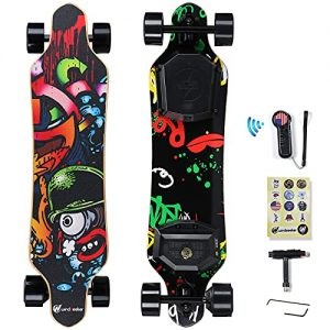 Electric Longboard with Remote for Adults and Teens