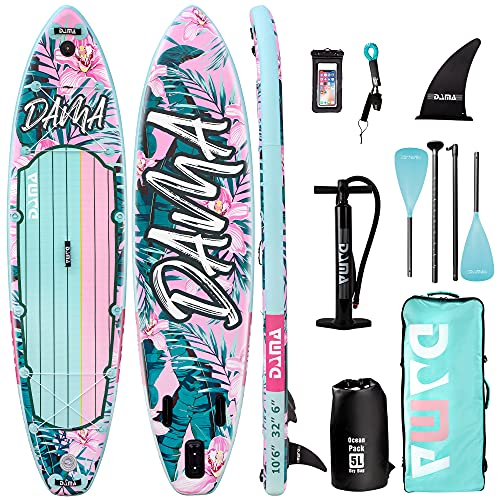 Stand Up Paddle Boards Inflatable Board Sup Boards Classic Flower