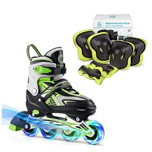 Gonex Size S Inline Skates with Size S Knee Pads