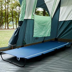 Folding Camping Cot Lightweight Easy Set up with Carry Bag Support