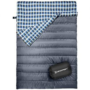 Camping, Hiking Water Repellent 2 Person Sleeping Bag