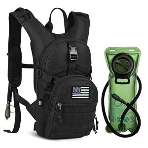 Hydration Backpack with 2L BPA Free Water Bladder