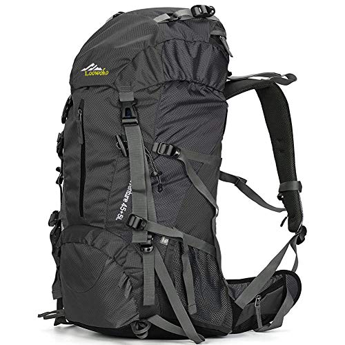 50L Hiking Backpack Waterproof with Rain Cover