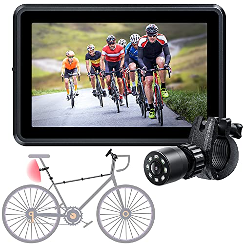 Wide Rear View Angle Bike Mirror Camera