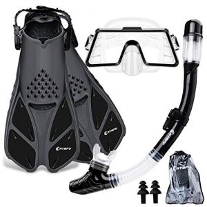 Panoramic Tempered Glass Scuba Diving Mask