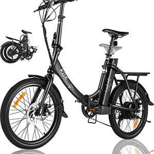 Folding Electric Bike for Adults for Women Men, 20MPH