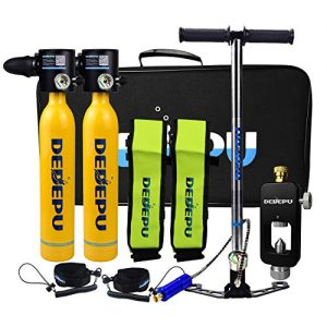 Portable Diving Equipment with Scuba Adapter