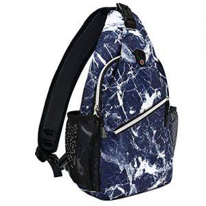Hiking Daypack Pattern Rope Crossbody Sling Backpack
