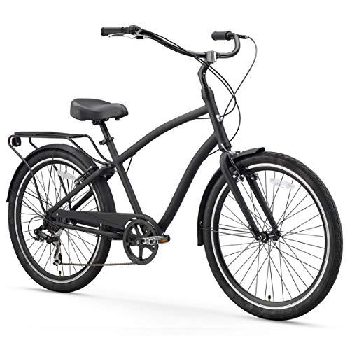 Men's 7-Speed Hybrid Cruiser Bicycle