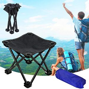 Folding Portable Camping Stool Mini Lightweight Chair for Camping