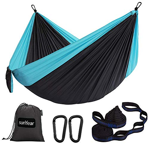 Hammock Camping Lightweight Portable with 2 Tree Straps