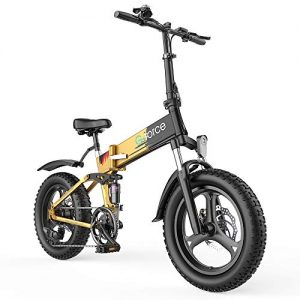 Folding Ebike Electric for Adults Max Speed 20MPH