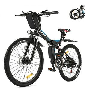 Folding Electric Bike for Adults Removable Battery