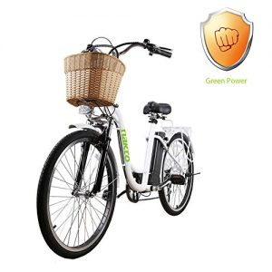 """NAKTO 26"""" City Electric Bicycle Assisted for Women"""