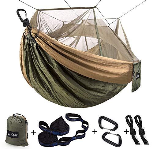 Portable Outdoor Tree Hammock 2 Person Hammock for Camping