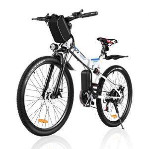 VIVI Folding Electric Mountain Bicycle Adults