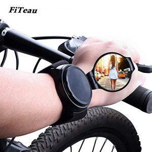 Cycling Wrist Band Rear View Mirror