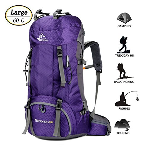 Ultra Lightweight Hiking Backpack with Rain Cover