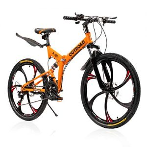 Mountain Bike and Folding Bikes with High Carbon Steel Frame