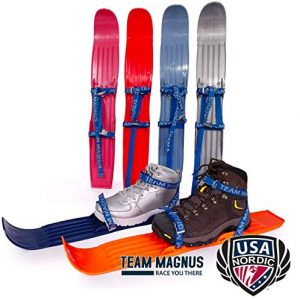 Snow skis for Kids Adjust to All Boot Sizes for Skills
